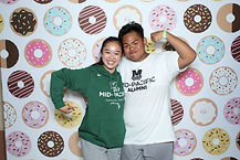 Yummy Donuts party pix hawaii photo boot