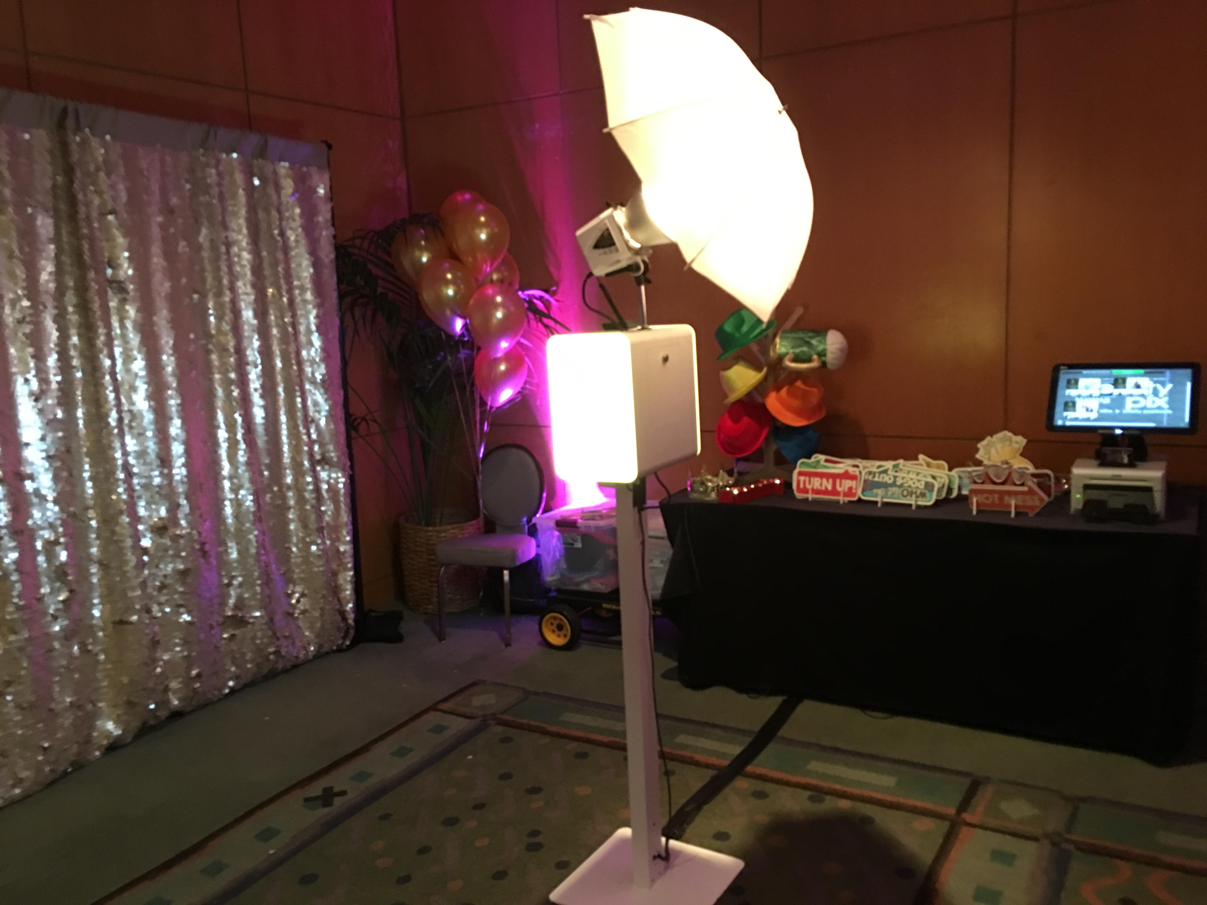 Mini LED Photo Booth 1