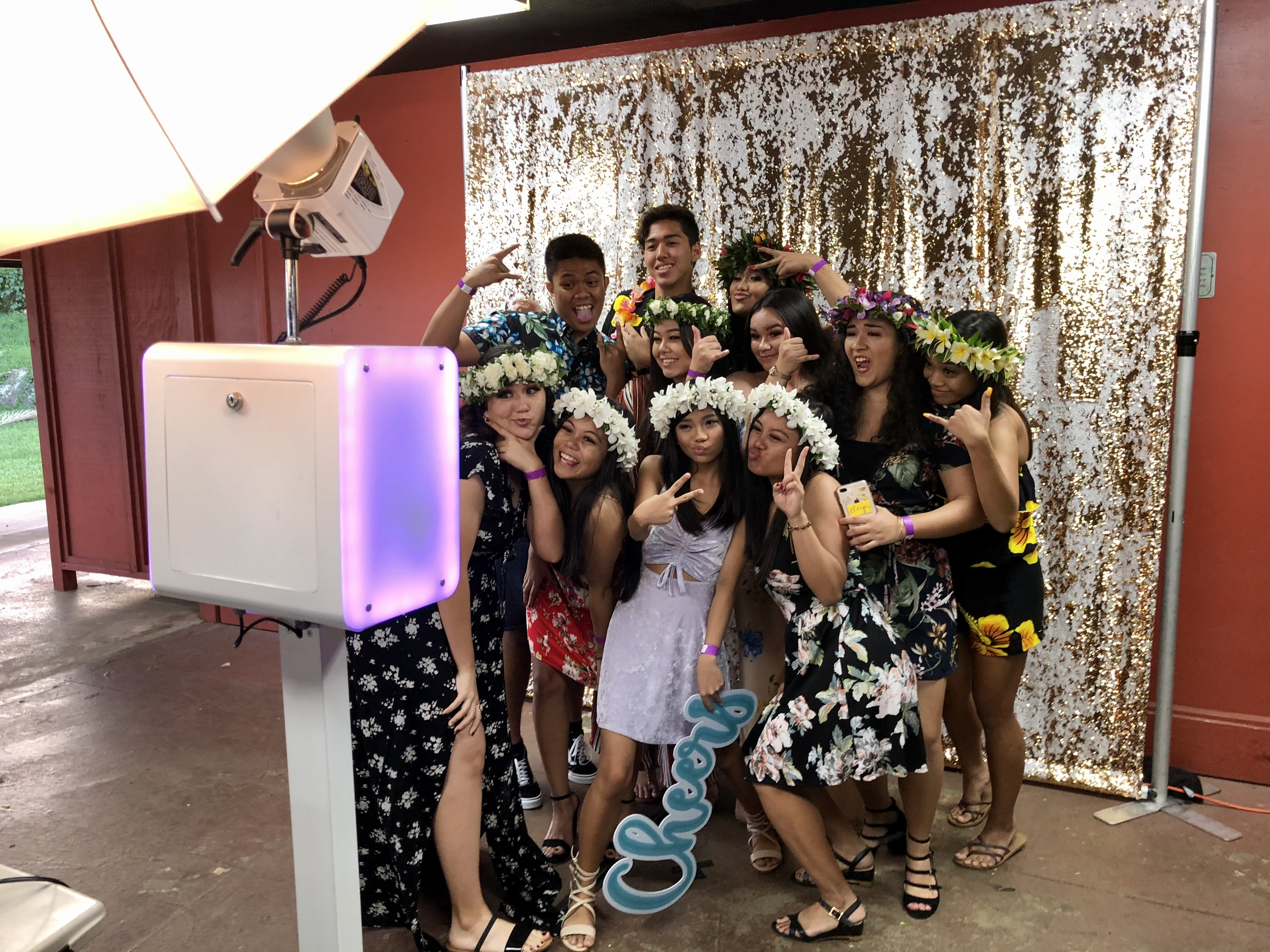 party pix hawaii mini led booth 3
