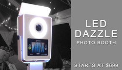LED Dazzle Photo Booth