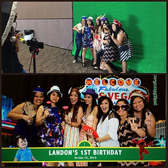 Green Screen Party pix hawaii oahu honol