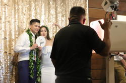 mini LED photo booth party pix hawaii 5