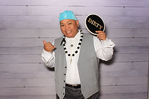 party pix hawaii photobooth white rustic
