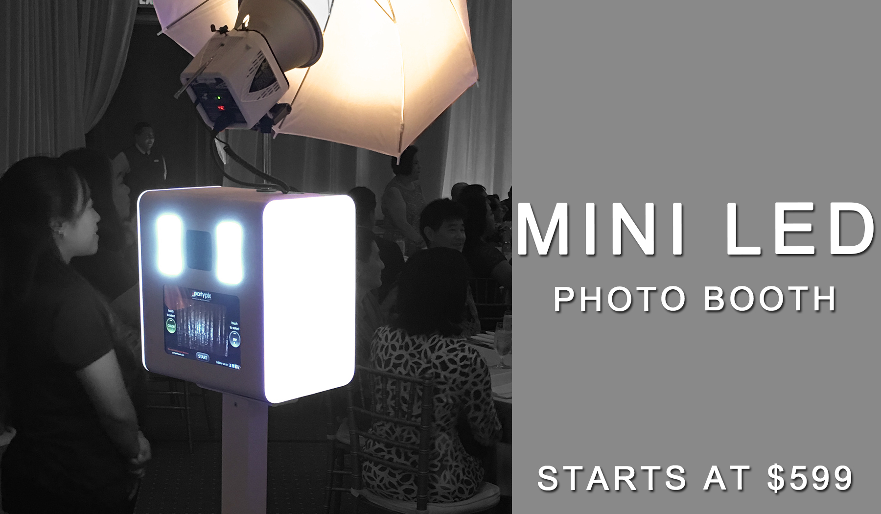 Mini LED Photo Booth
