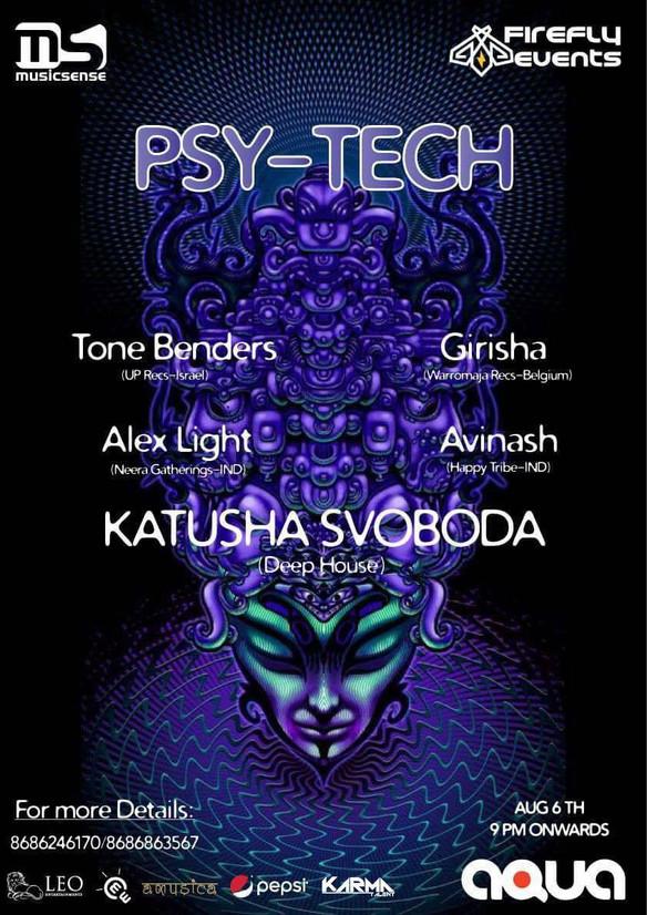 06/08 - Katusha Svoboda's Deep House Set @ PSY-TECH Aqua The Park, Hyderabad, India