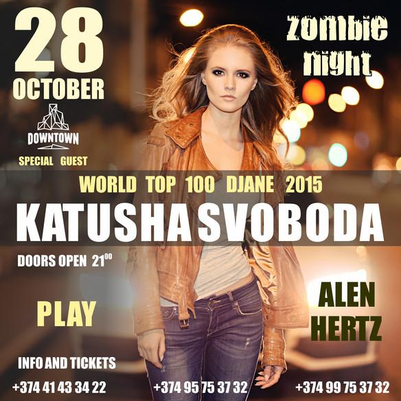 28/10 Katusha Svoboda @ Down Town Club, Yerevan, Armenia