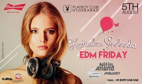 05/08 - Katusha Svoboda @ Playboy Club, Hyderabad, India