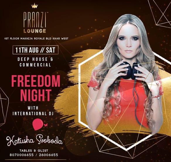 11/08 Katusha Svoboda @Pranzi Lounge, Mumbai, India