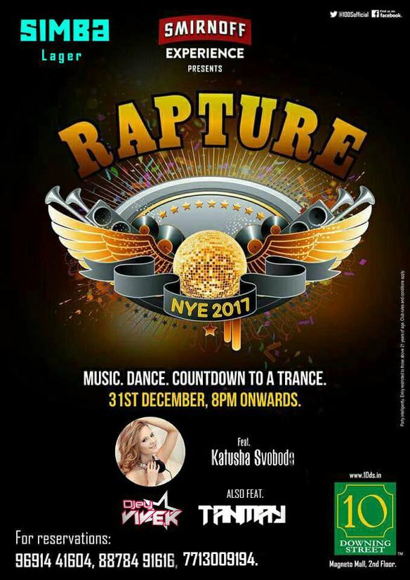 31/12 Katusha Svoboda @ 10 Downing Street NYE, Raipur, India