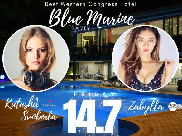 14/07 - Katusha Svoboda @ Blue Marine Party, Yerevan, Armenia