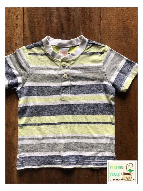 Camiseta botões - Gymboree