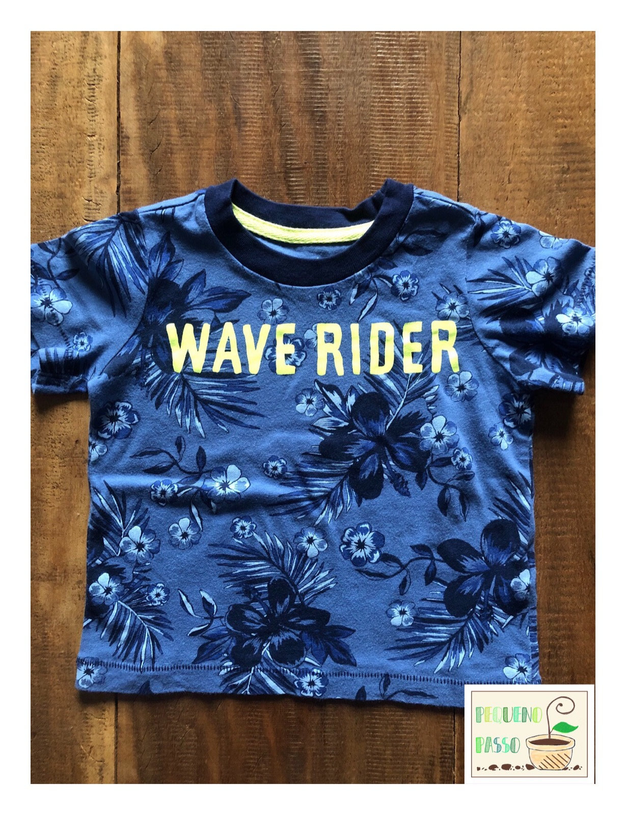 35e16270360eb4 Camiseta wave - Carter's