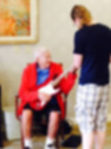 Falls Music School Retirement Home Program