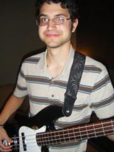 Our bass teacher, Charles.
