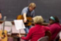 A group guitar class!