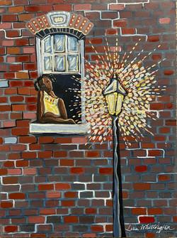 Harlem Child in the Window