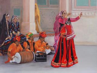 Kalbelia Dance Troupe, Jaipur