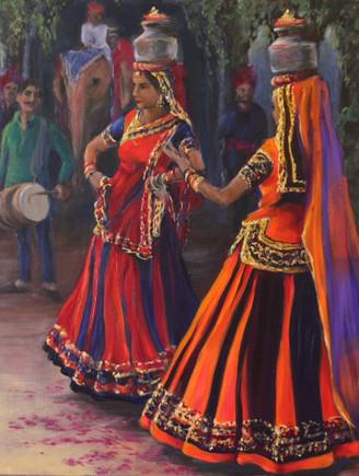 Chari Dancers - small print