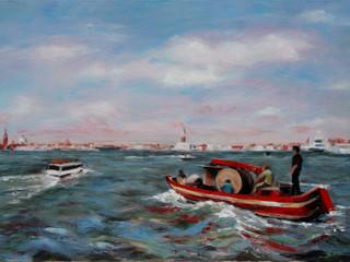 Crossing the Lagoon, Venice