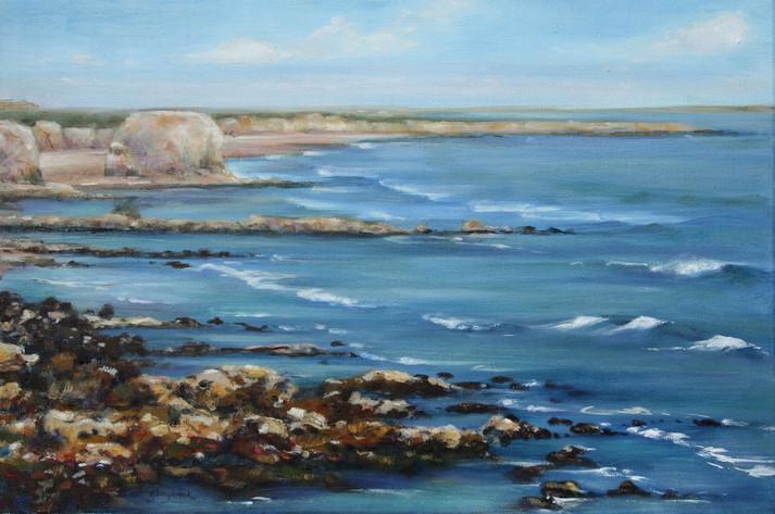 Incoming Tide, Marsden Bay, Tyne & Wear