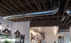 The Plot Restaurant Ductwork