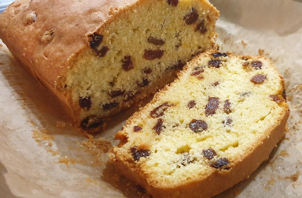 mixed fruit cake, sultana cake