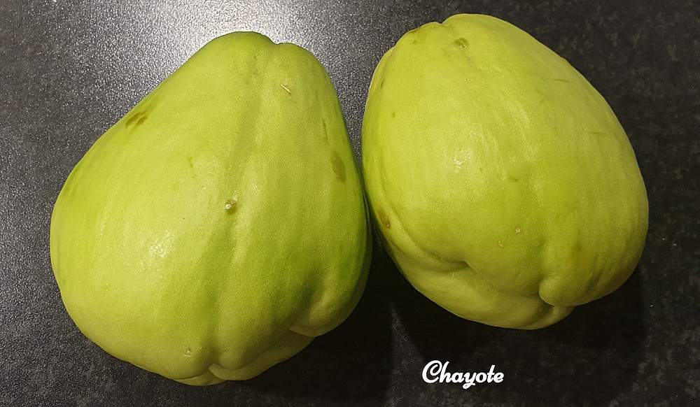 Chayote squash vegetable