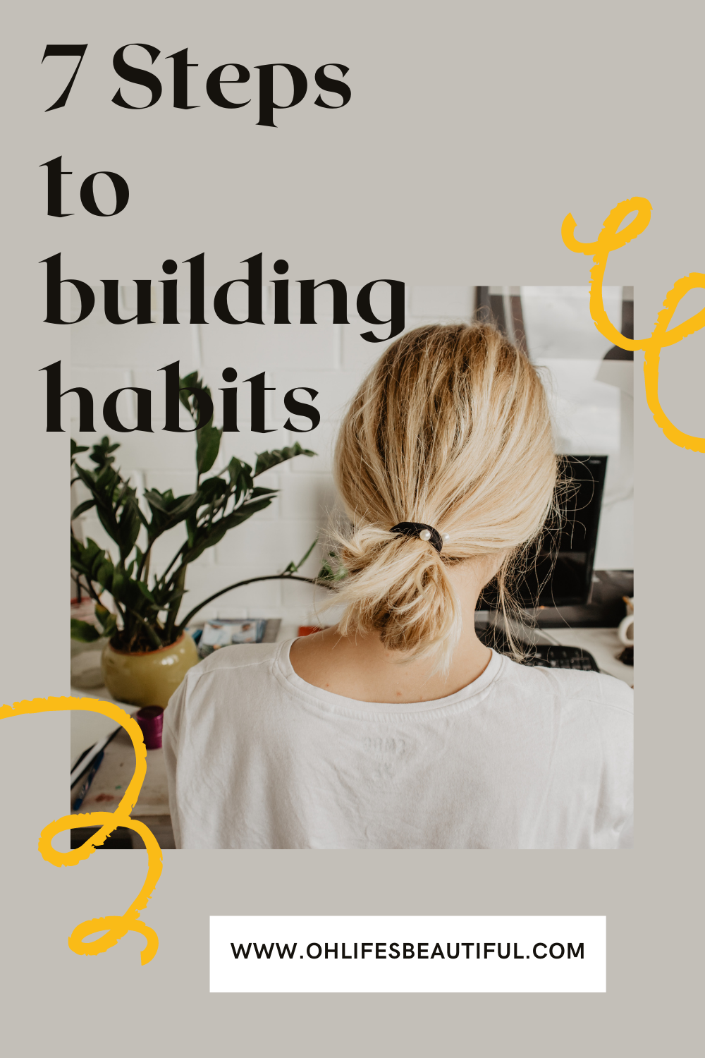 7 steps to building habits