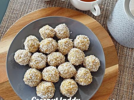 Coconut Laddu/ Laddoo with a healthy twist.