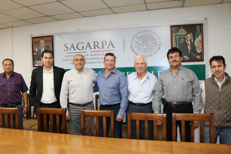 Reunión AEGBN-SAGARPA