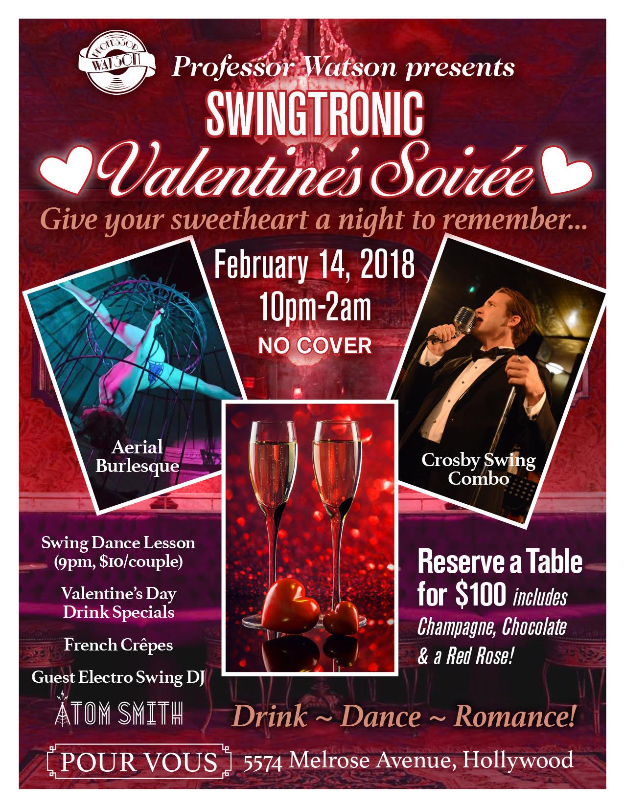 Valentines Soiree Flyer