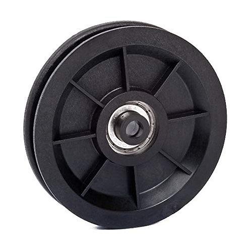 Carrucola in plastica antiurto Ø 90 mm (distanziatori compresi)