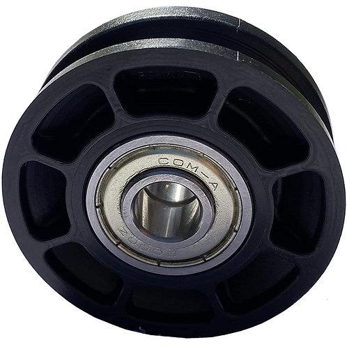 Carrucola Ø 52mm, per cavi fino a Ø 8mm con doppio cuscinetto