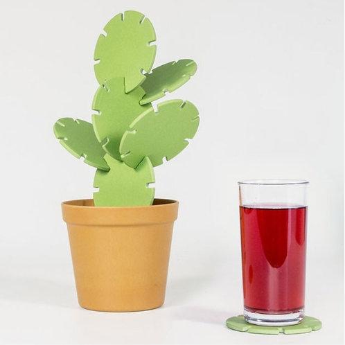 Cactus sous-verre