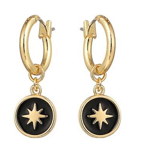 Boucles d'oreilles l'étoile du nord