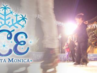 Ice Skating Fun in Santa Monica