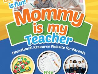 Mommy Is My Teacher: Preschool Curriculum for Homeschoolers