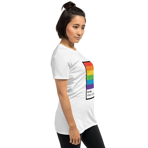 Choose joy, be gay | all gender t-shirts