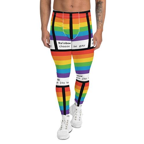 Choose joy, be gay | leggings