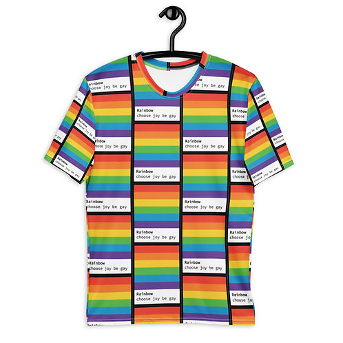 Choose joy, be gay | all gender t-shirt