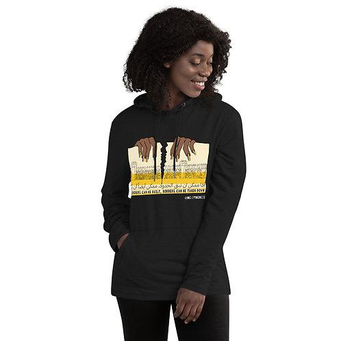 bye borders | وداعا الحدود | all gender hoodie sweatshirt