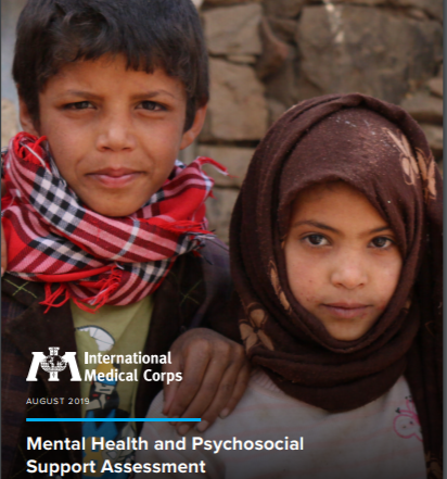 International Medical Corps Report on Mental Health of Displaced Persons in Yemen's crisis