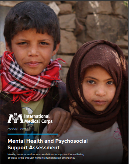 2019 Assessment of Mental Health and Psychosocial Services in Yemen