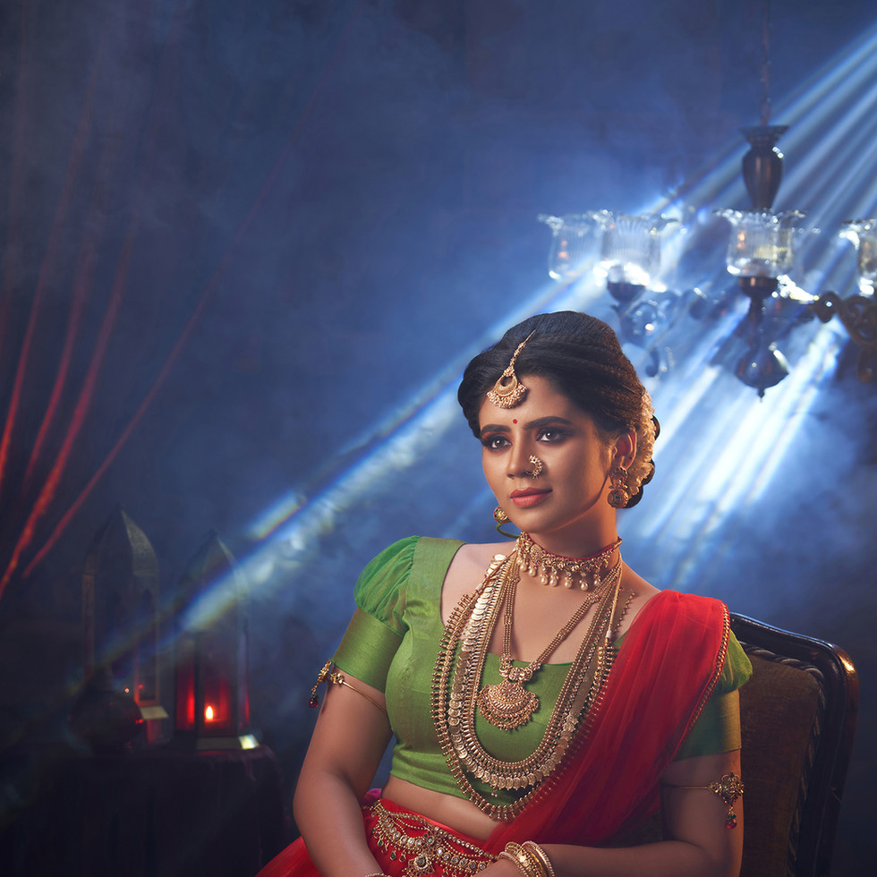 Saree photoshoot by R Prasanna venkatesh