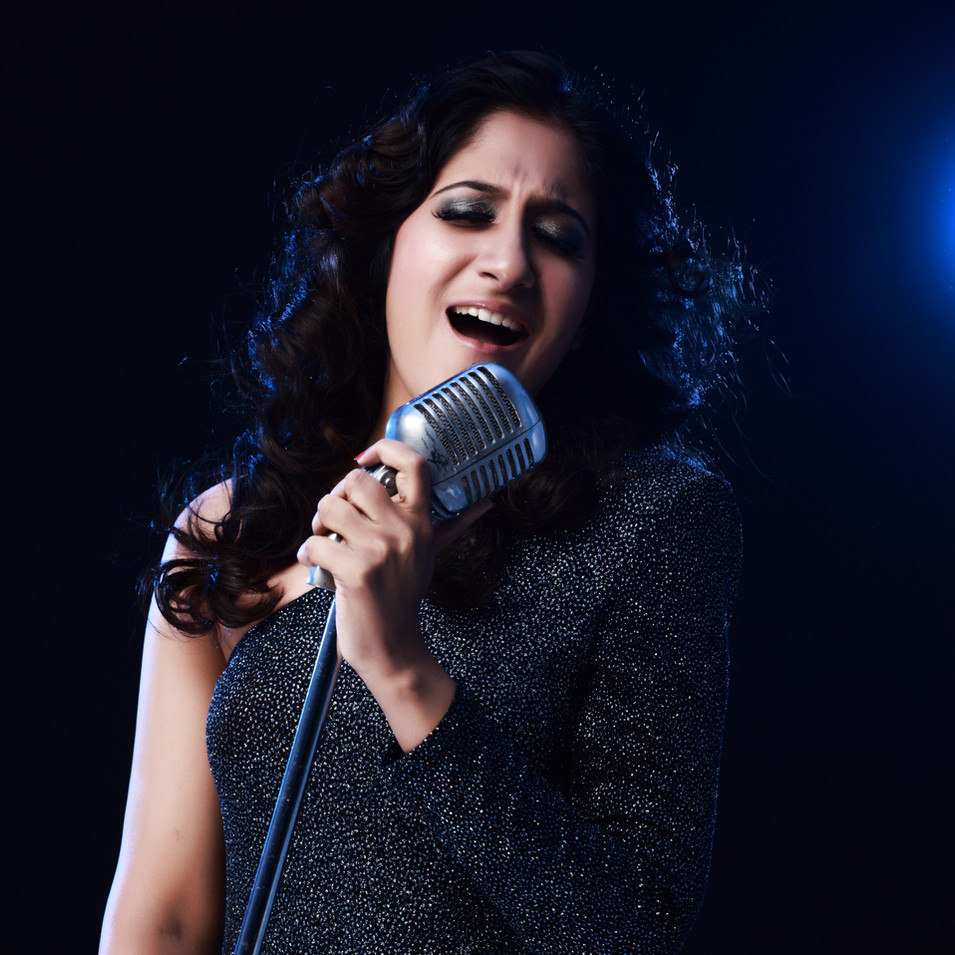 Singer Shwetha  photoshoot  by R Prasanna Venkatesh