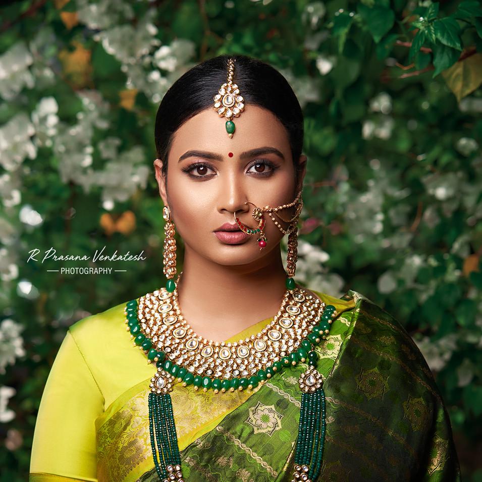Creative lighting portrait by R Prasanna venkatesh