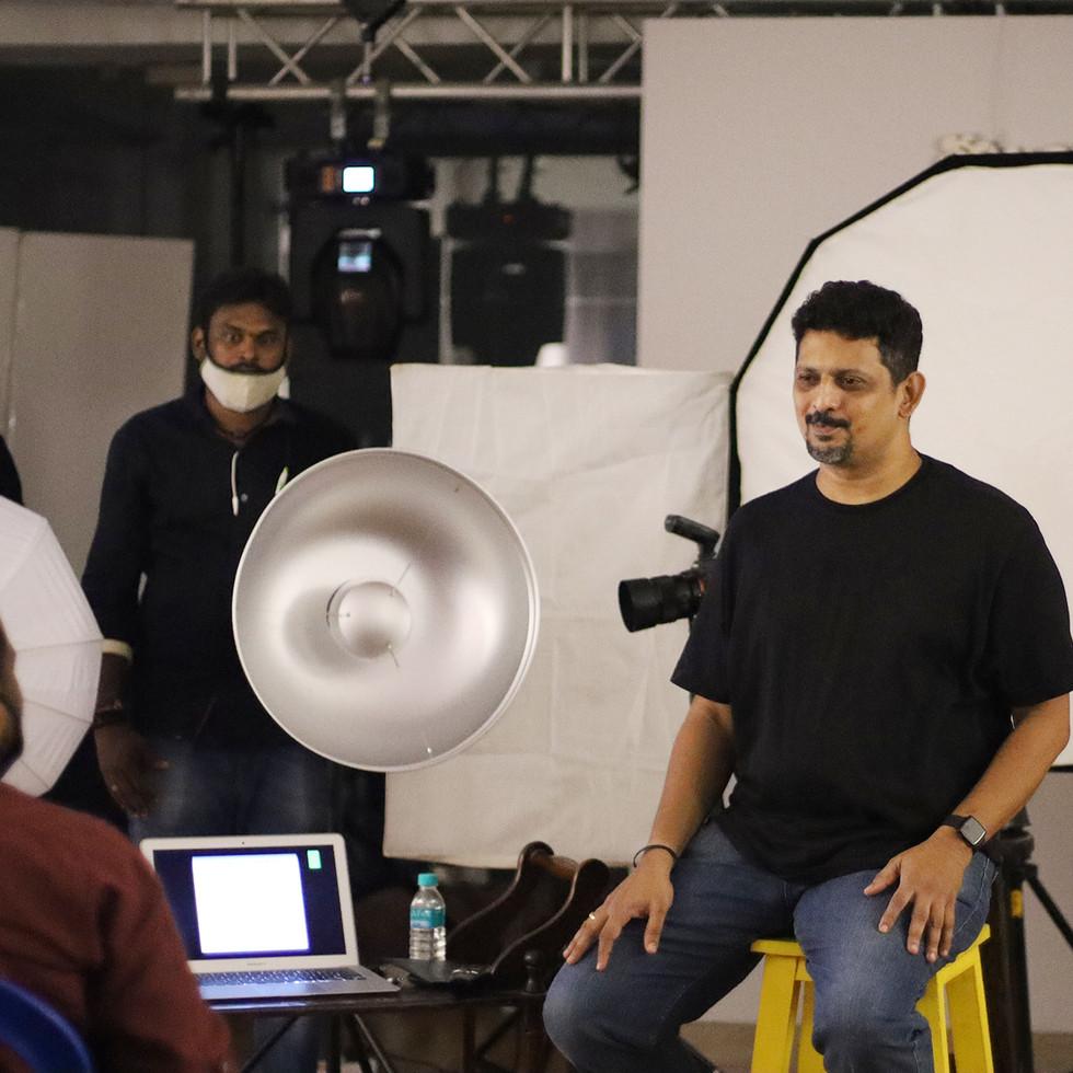 Advance level lighting Workshop by R Prasanna Venkatesh