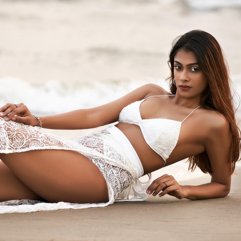 Beach wear photo shoot by R Prasanna venkatesh