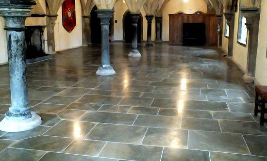 MTM's tile restoration in Bishop's Palace