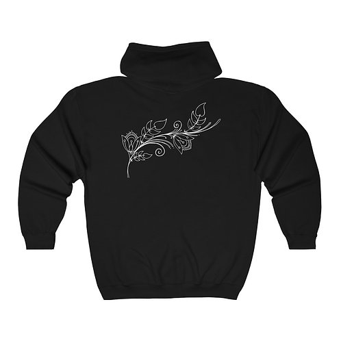 Zip Hoodie - Henna